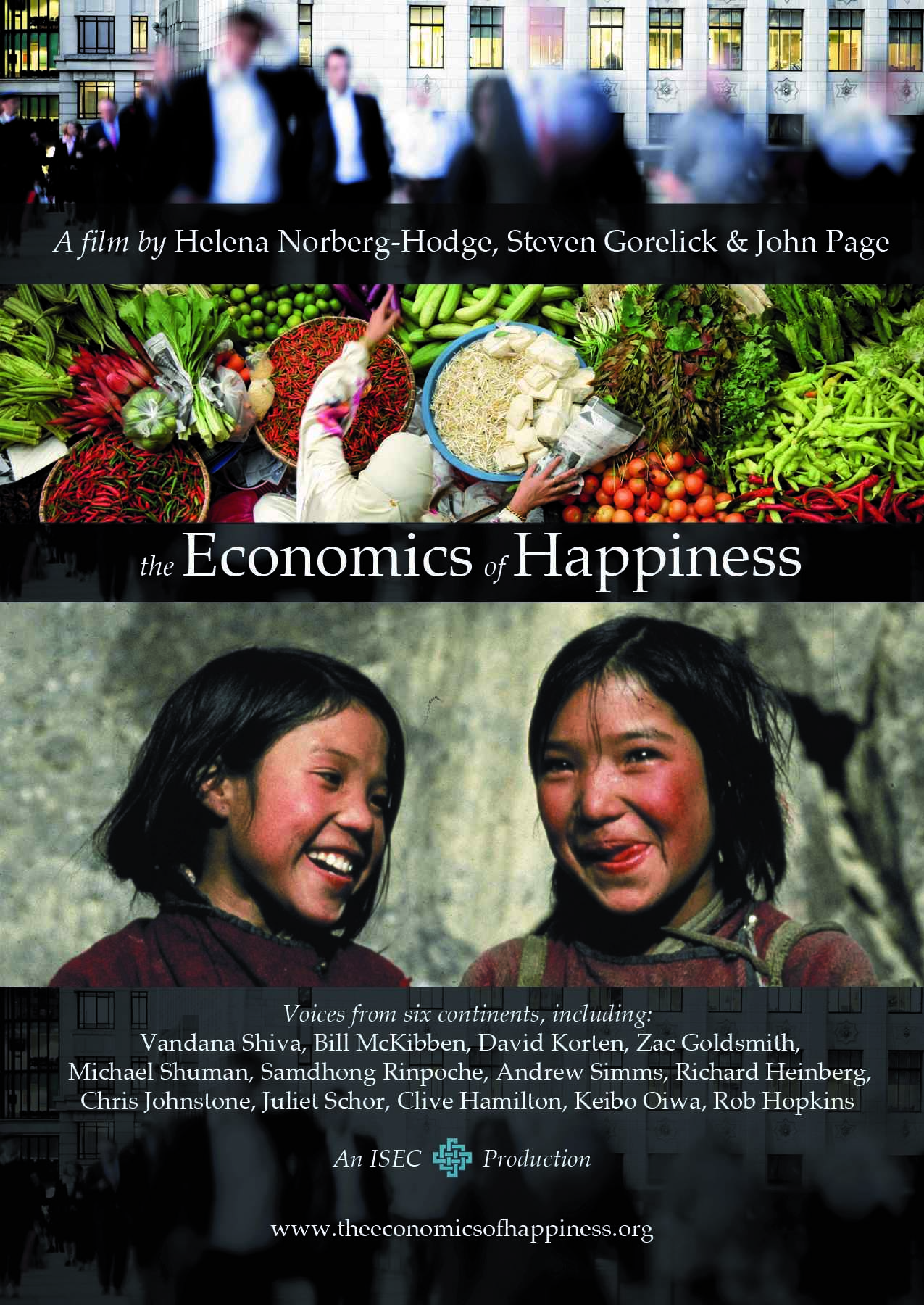 The Economics of Happiness (Small, Slow and Local)