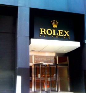 Rolex Watch 665 5th Ave