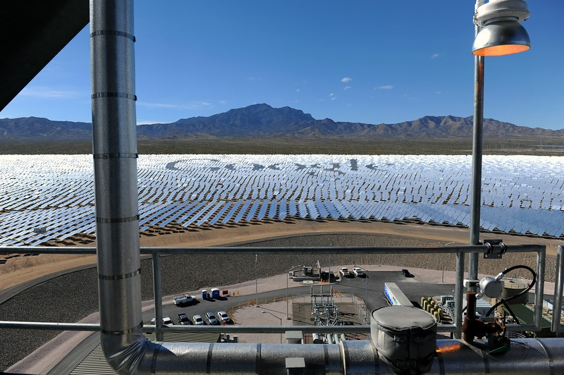 California's largest solar plant unveiled