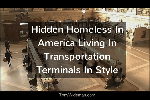 Hidden Homeless In America Living In Transportation Terminals In Style
