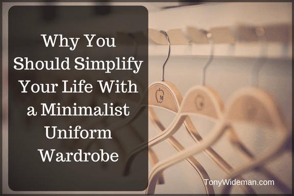 Minimalist Uniform Wardrobe