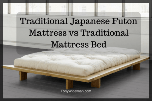 Traditional Japanese Futon Mattress Vs Bed