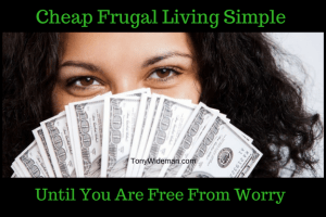 Cheap Frugal Living