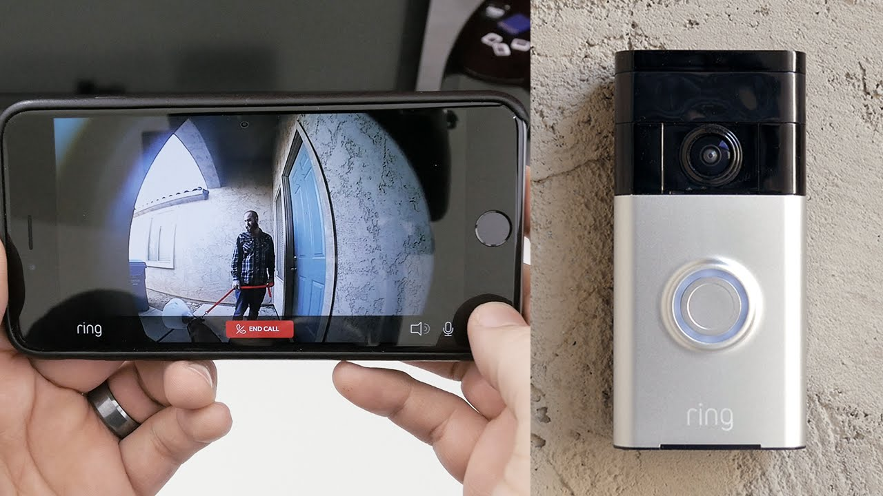 The Ring Video Doorbell Makes Living Simple Futuristic