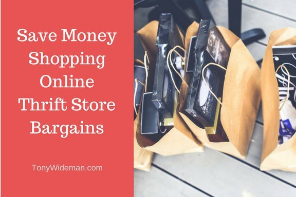 Save Money Shopping Online Thrift Store Bargains