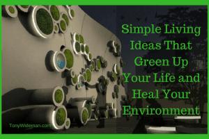 Simple Living Ideas