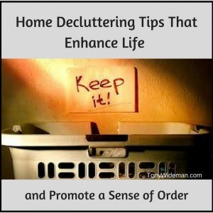 home declutter tips