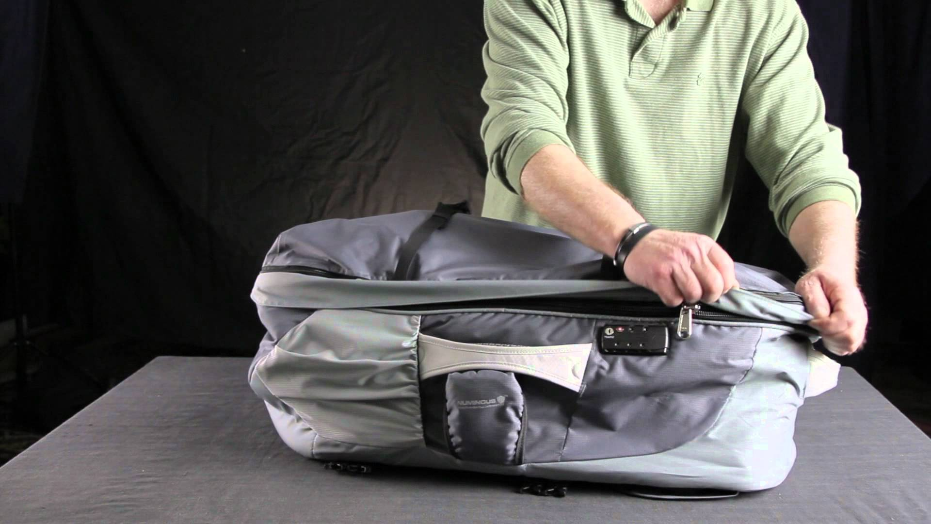 Numinous Packs GlobePacs Anti-Theft Travel Backpack Review
