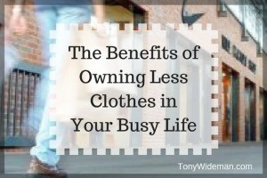 Owning Less Clothes