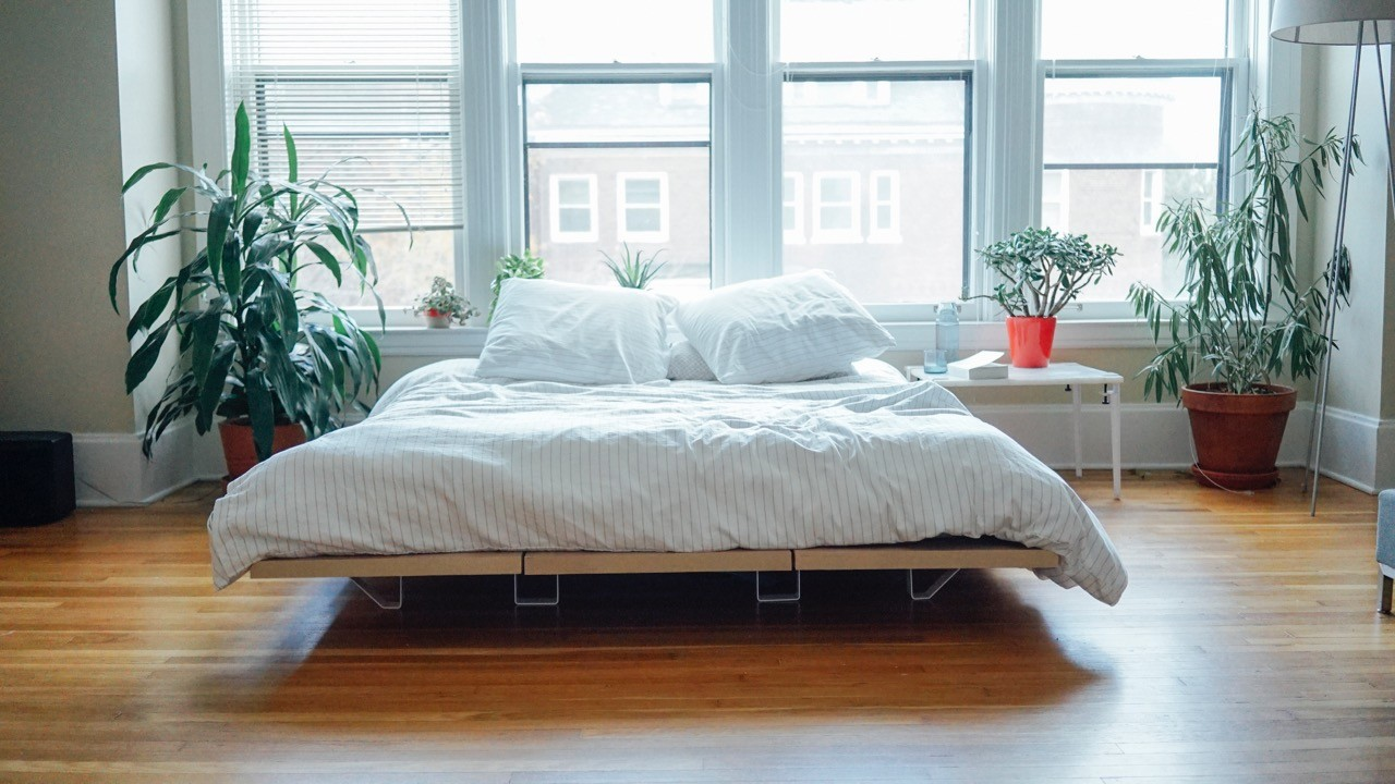 Platform Bed Minimalist Design For Urban Living And A