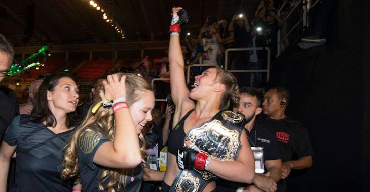 Ronda Rousey: Proof Money Can't Buy Happiness, But You Can Be Happy