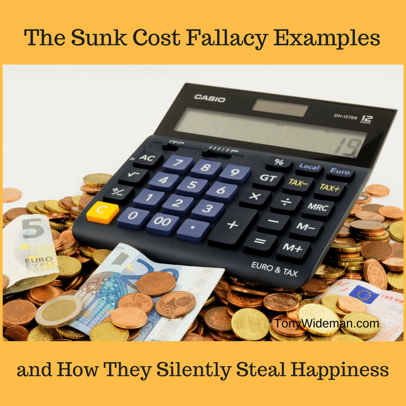 Sunk Cost Fallacy Examples