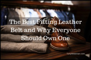 Best Fitting Leather Belt