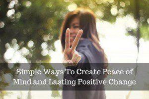 Create Peace of Mind