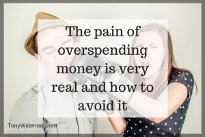 The Pain of Overspending Money