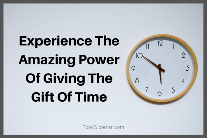 Giving The Gift Of Time