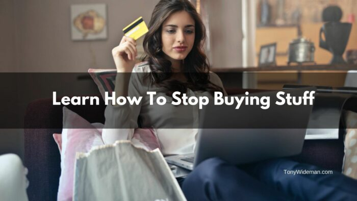Stop buying stuff